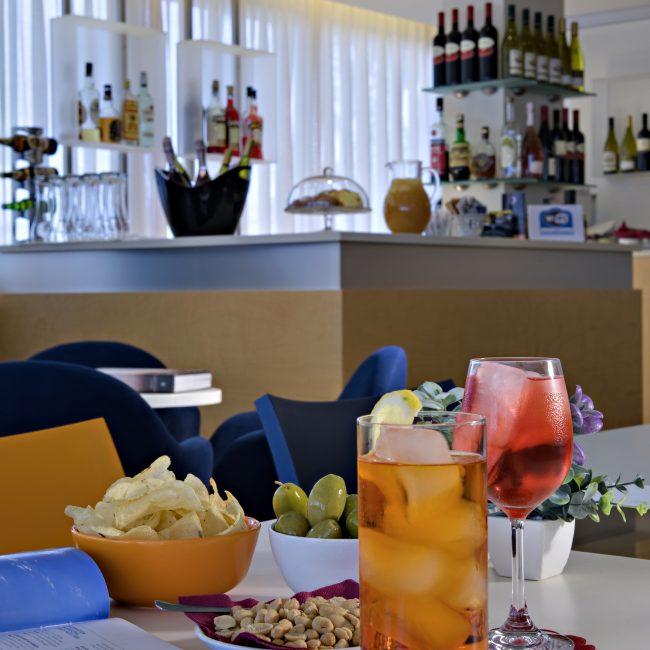 Aperitivo all'hotel garni Renania di Bibione