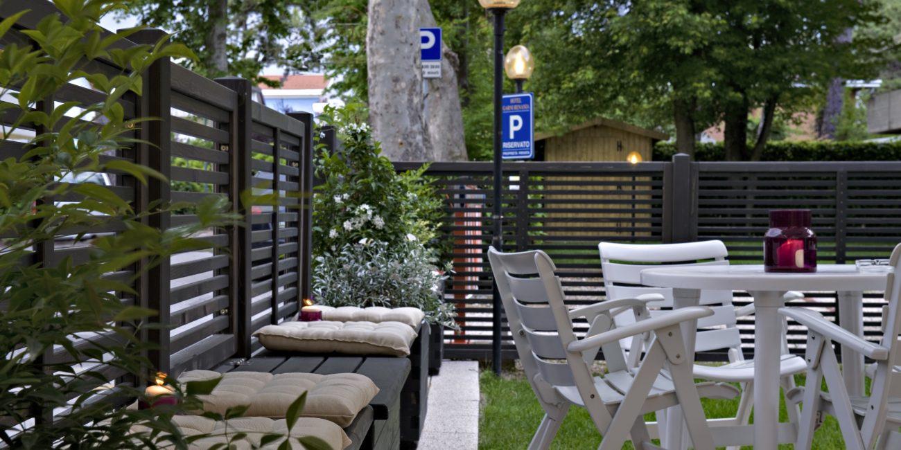 Il giardino attrezzato del nostro active hotel