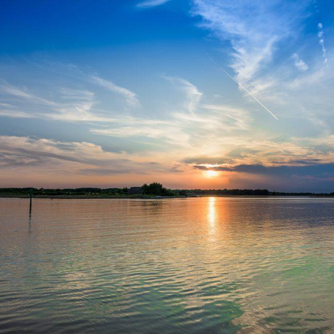 Bibione al tramonto