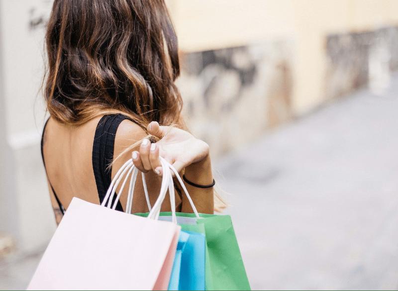 Il centro di Bibione è l'ideale per lo shopping