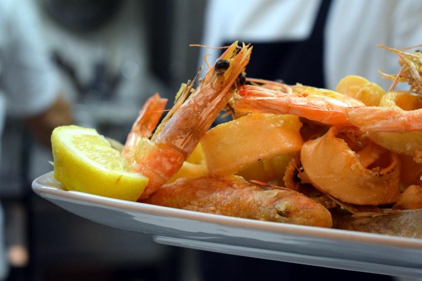 Gustosi piatti di pesce in vacanza a Bibione