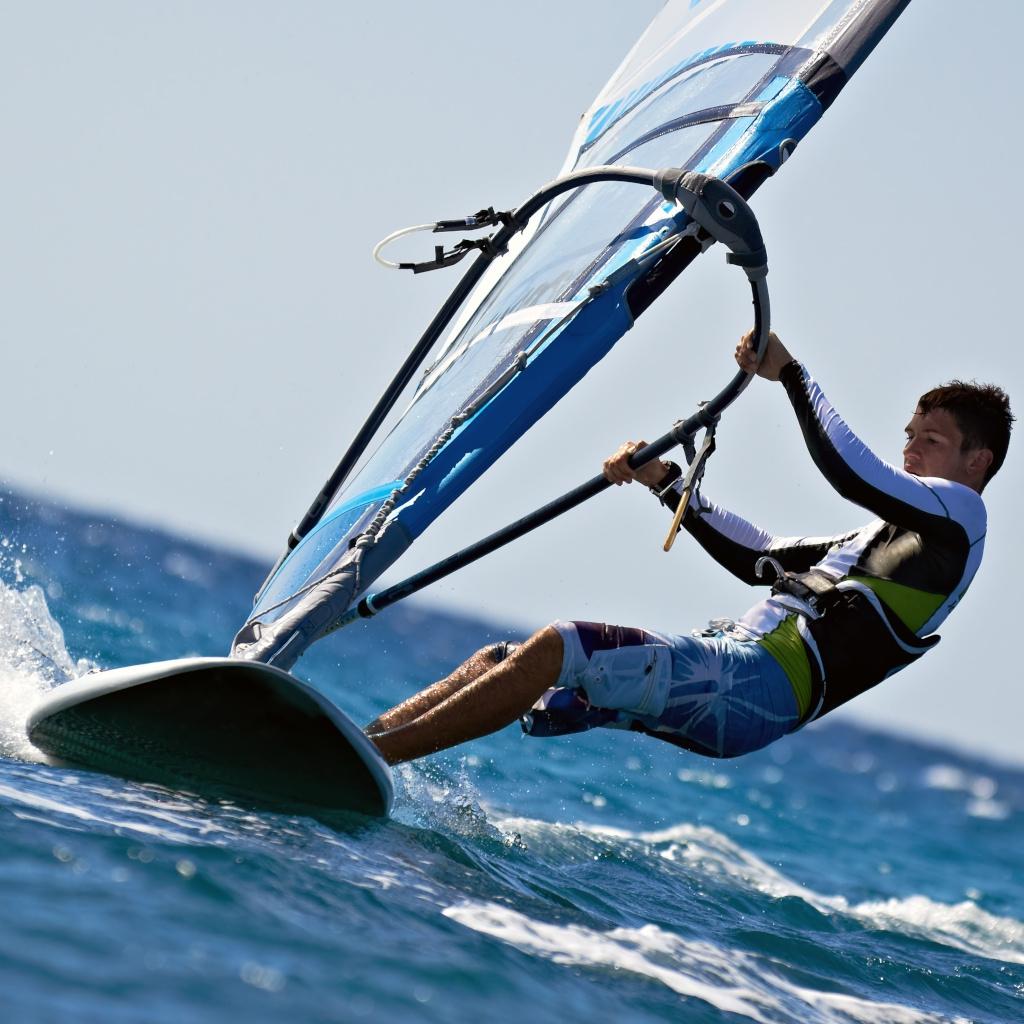 Gli sportivi possono fare tanti sport acquatici a Bibione