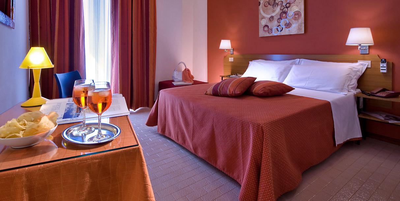 Hotel Renania camera doppia con balcone